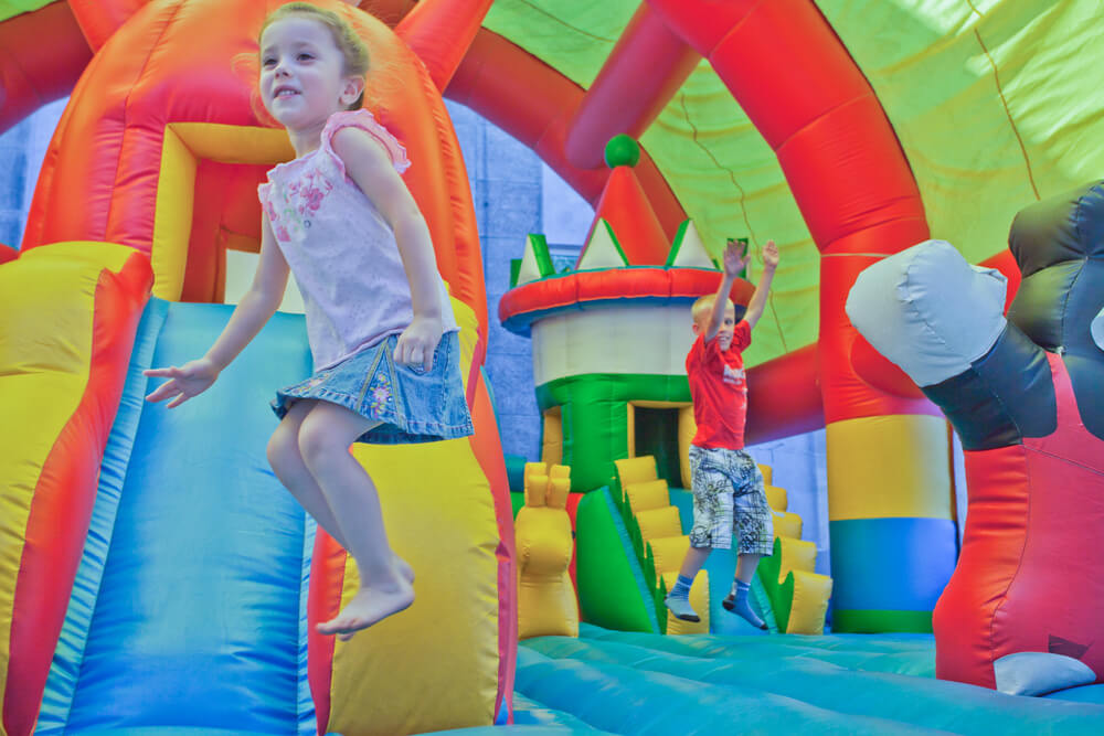 Inflatable Castle Bounce House Party Ideas!